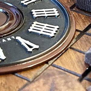 cuckoo clock numerals