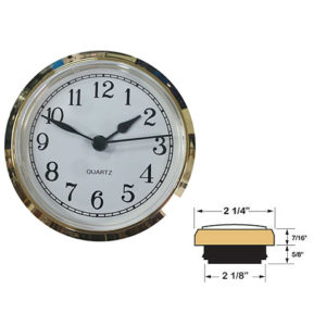 How to measure a clock insert clockworks.com