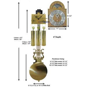 Grandfather Clock Kit GFKIT02