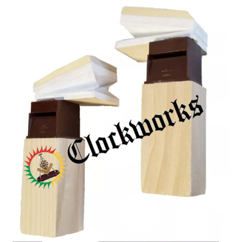 Side-Opening Cuckoo Clock Bellows with Tubes