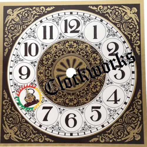 Square Metal Clock Dial