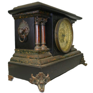 Flat Round Clock Glass