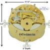 132-071 Ships Bell Clock Movement