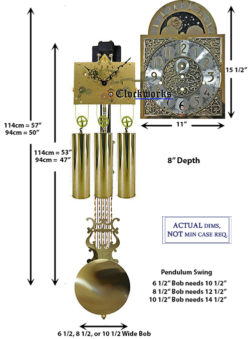 Mechanical Clock Kits - Build a Grandfather Clock with Ease : Clockworks