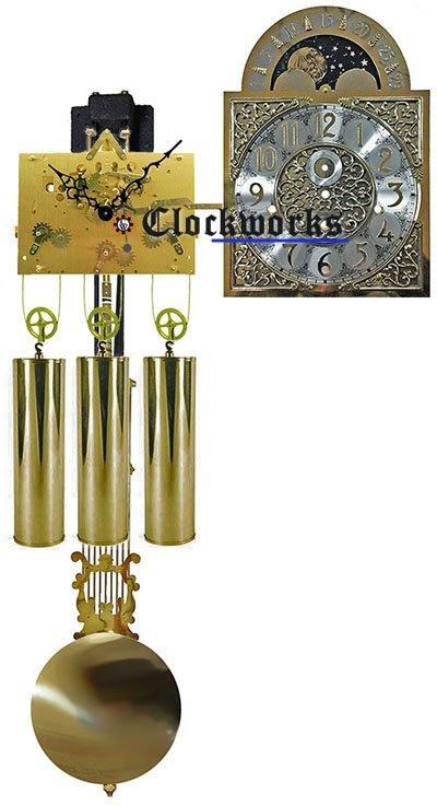 Triple-Chime Grandfather Clock Kit