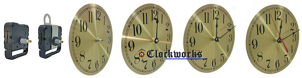 Quartz Clock Movements - Chime / Pendulum : Clockworks