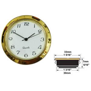 How to measure a clock insert clockworks.com
