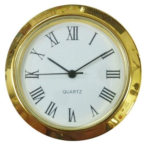 Quartz clock insert by clockworks.com