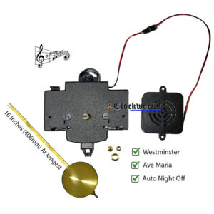 MSO chiming quartz clock movement 2214 2215 2115 2114 clockworks.com