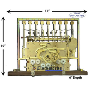 1171-890 Hermle Clock Movement