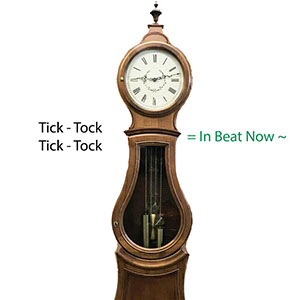 Putting a clock in beat by Clockworks