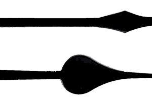 Hermle spade variant mechanical spade hands