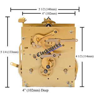 Kieninger PS Series clock movement