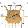 Kieninger RU Series clock movement