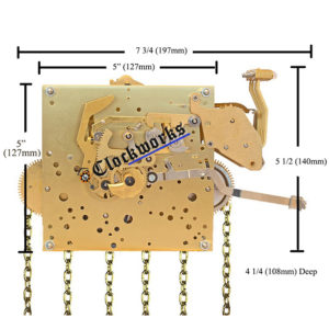 Kieninger SKS Series clock movement