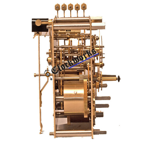 Kieninger SPS clock movement