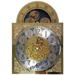 Quartz Conversion Clock Moon Dial
