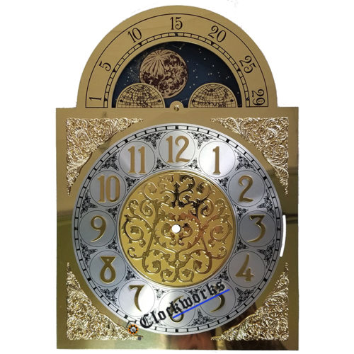 Quartz Conversion Clock Moon Dial