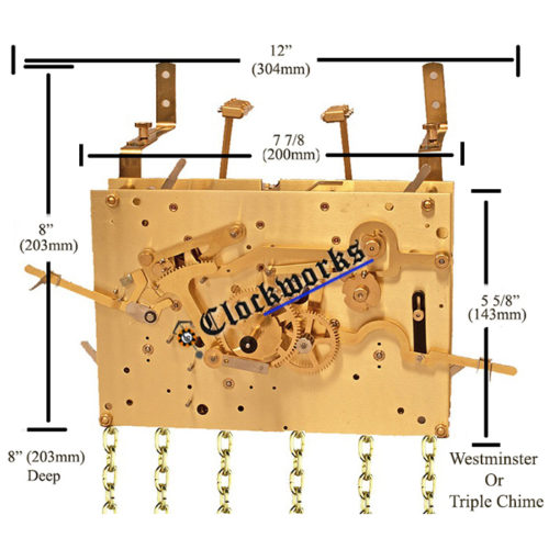 Kieninger H Series clock movement