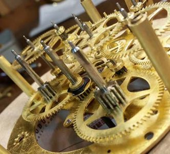 Restoring the Clock Movement