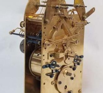 Restored  Westminster German clock movement 4