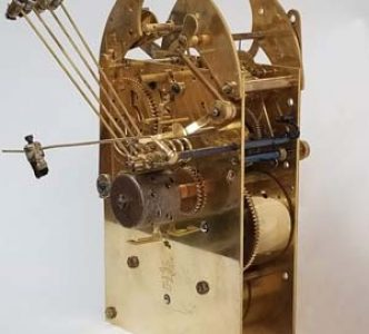 Restored  Westminster German clock movement 2