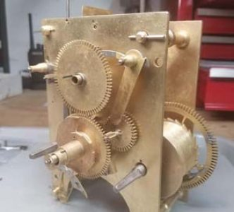 Completed Clock Restoration on a Willard 2