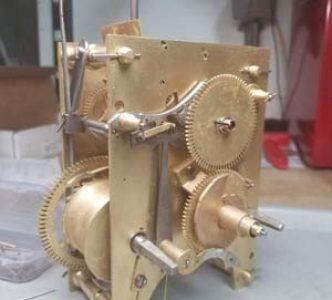 Completed Clock Restoration on a Willard 3