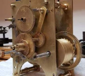 Restoring the Willard clock movement 6