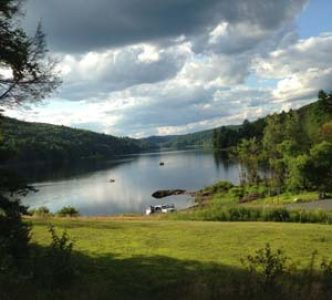 Littleville Lake on Goss Hill Rd Huntington MA
