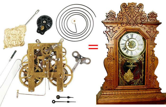 Antique Clock Movement Replacements Clockworks
