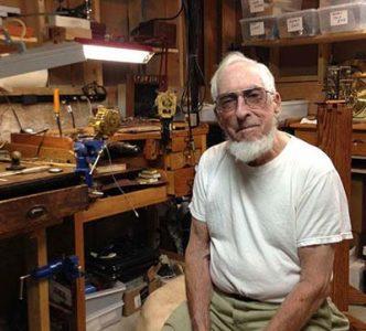Clockmaker and Uncle Robert Tonkin