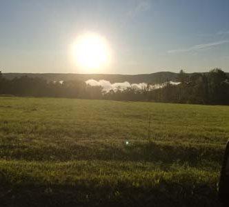 Sunrise on Goss Hill Rd, Huntington, MA