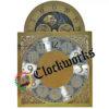 Hermle 451-050 clock moon dial