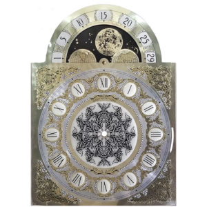 1161-853 Clock Moon Dial