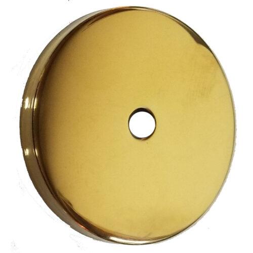 brass tone weight cap