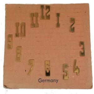 Brass Clock Dial Numerals