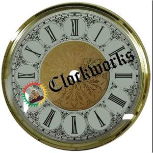Clock Bezel, Dial, Glass Friction Fit