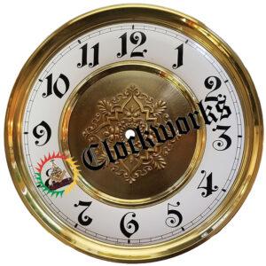 Embossed Round Clock Dial