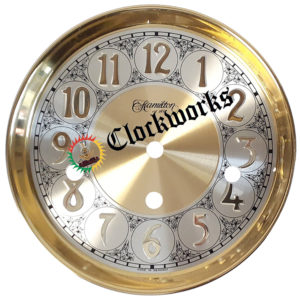 Drilled Round Dial for 351 Clock Movement