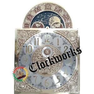 SKS Kieninger clock moon dial