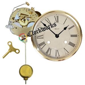 Mechanical Shelf Clock Kit - Bell Strike