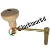 Grandfather Clock Key Crank